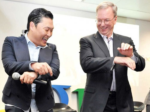 Eric Schmidt, Bos Google Belajar Joget Gangnam Style